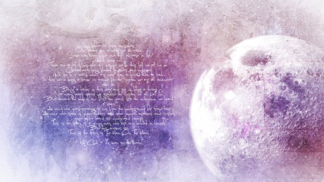 moon words
