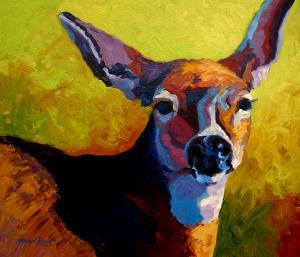 Doe Portrait V by Marion Rose